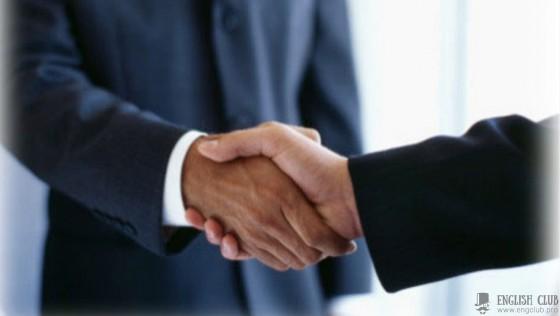 Диалог с переводом по теме — «Бизнес»