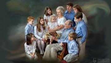 Слова с транскрипцией на тему «Семья и семейные отношения»