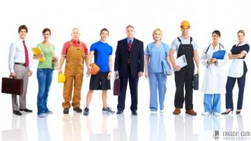 Учим слова с транскрипцией на тему «Работа, профессия»