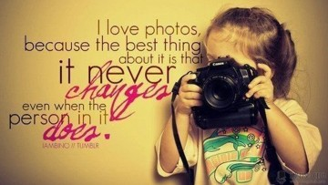 I love photos…