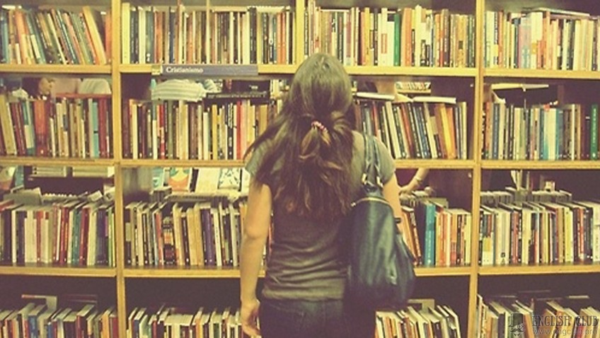 Диалог с переводом на тему «В библиотеке (At The Library)»