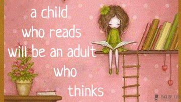 A child who reads…