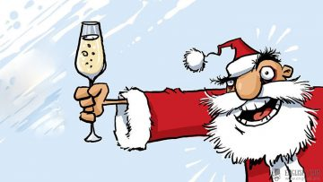 Порция новогодних тостов и пожеланий для любой компании