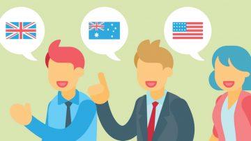 Один язык — три акцента. Какая разница между Австралийским, Американским и Британским английским